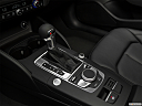 2019 Audi A3 Premium 2.0 TFSI, gear shifter/center console.