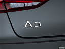 2019 Audi A3 Premium 2.0 TFSI, rear model badge/emblem