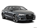 2019 Audi A3 Premium 2.0 TFSI, front passenger 3/4 w/ wheels turned.