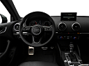 2019 Audi A3 Premium 2.0 TFSI, steering wheel/center console.