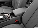 2019 Audi A4 Premium Plus 2.0 TFSI, front center console with closed lid, from driver's side looking down