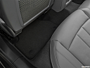 2019 Audi A4 Premium Plus 2.0 TFSI, rear driver's side floor mat. mid-seat level from outside looking in.