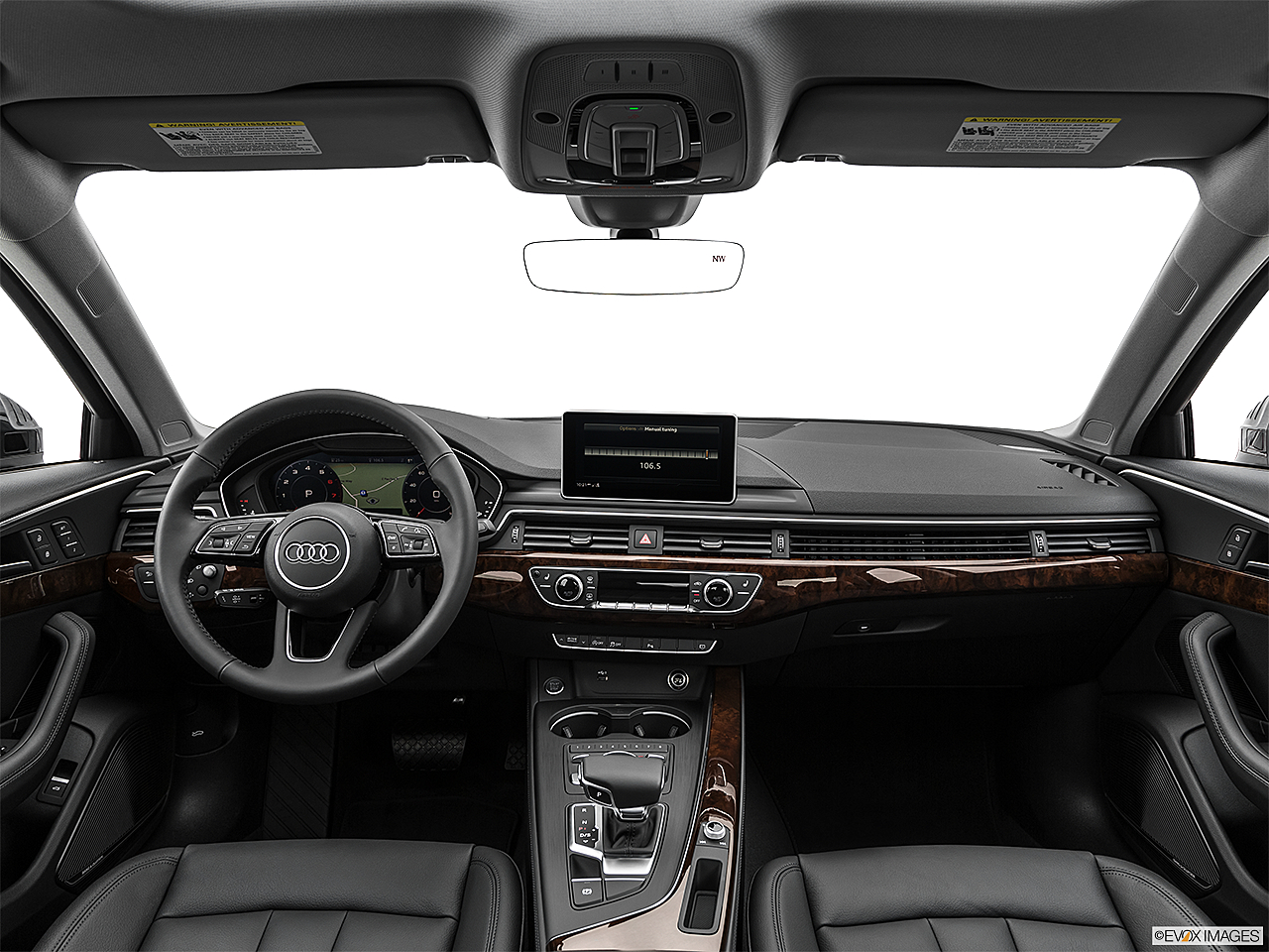 2019 Audi A4 Prestige 2.0 TFSI, centered wide dash shot