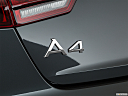 2019 Audi A4 Prestige 2.0 TFSI, rear model badge/emblem