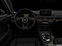 "2019 Audi A4 Prestige 2.0 TFSI, centered wide dash shot - ""night"" shot."