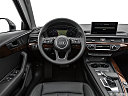 2019 Audi A4 Prestige 2.0 TFSI, steering wheel/center console.
