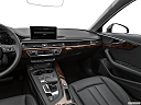 2019 Audi A4 Prestige 2.0 TFSI, center console/passenger side.