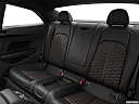 2019 Audi RS 5 2.9 TFSI, rear seats from drivers side.