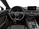 2019 Audi RS 5 2.9 TFSI, steering wheel/center console.