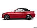 2019 BMW 2-series 230i, drivers side profile, convertible top up (convertibles only).