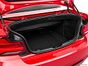 2019 BMW 2-series 230i, trunk open.