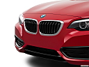 2019 BMW 2-series 230i, close up of grill.