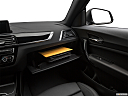 2019 BMW 2-series 230i, glove box open.