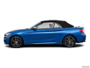 2019 BMW 2-series M240i, drivers side profile, convertible top up (convertibles only).