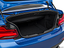 2019 BMW 2-series M240i, trunk open.