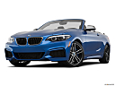 2019 BMW 2-series M240i, front angle view, low wide perspective.