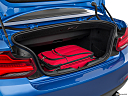 2019 BMW 2-series M240i, trunk props.