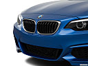 2019 BMW 2-series M240i, close up of grill.