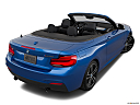 2019 BMW 2-series M240i, rear 3/4 angle view.