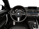 2019 BMW 2-series M240i, steering wheel/center console.