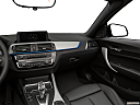2019 BMW 2-series M240i, center console/passenger side.