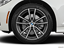 2019 BMW 3-series 330i, front drivers side wheel at profile.