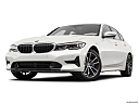 2019 BMW 3-series 330i, front angle view, low wide perspective.