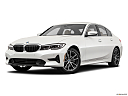 2019 BMW 3-series 330i, front angle medium view.