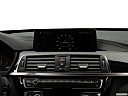 2019 BMW 3-series 340i xDrive Gran Turismo, closeup of radio head unit