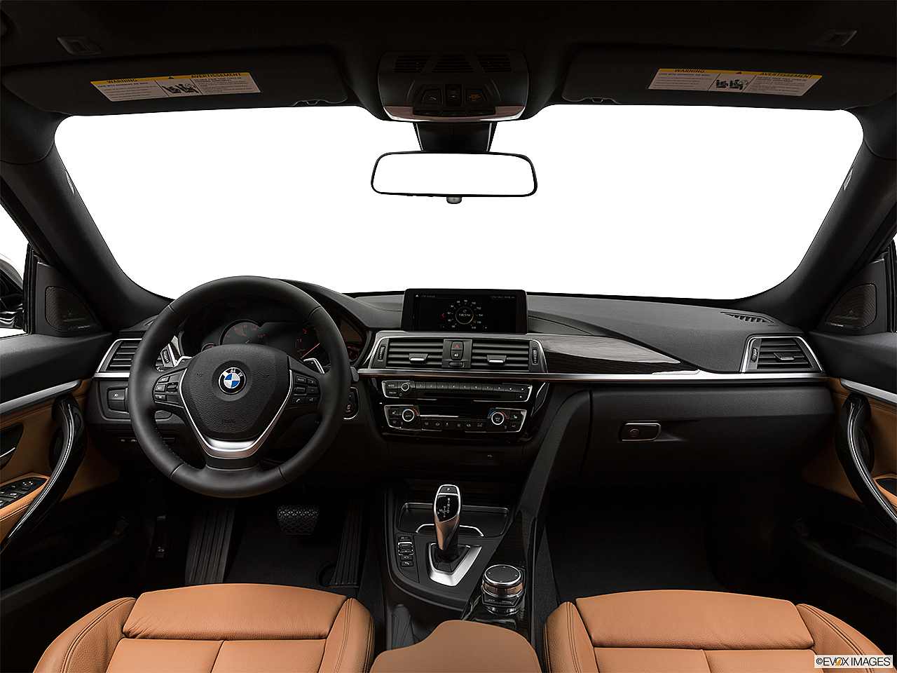 2019 BMW 3-series 340i xDrive Gran Turismo, centered wide dash shot
