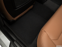2019 BMW 3-series 340i xDrive Gran Turismo, rear driver's side floor mat. mid-seat level from outside looking in.