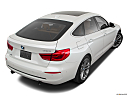 2019 BMW 3-series 340i xDrive Gran Turismo, rear 3/4 angle view.