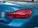 2019 BMW 4-series 430i Convertible, passenger side taillight.