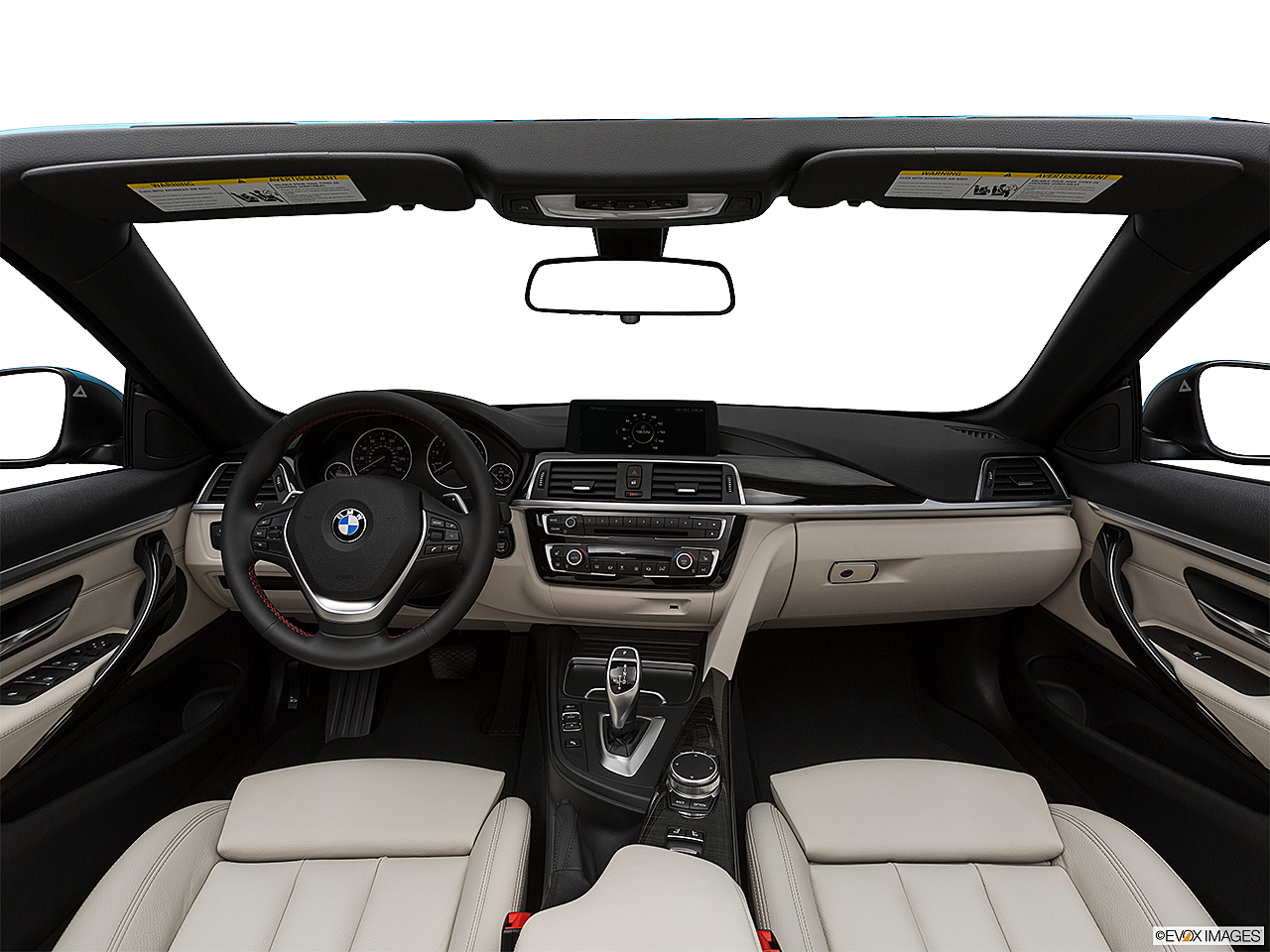 2019 BMW 4-series 430i Convertible, centered wide dash shot