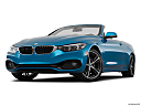 2019 BMW 4-series 430i Convertible, front angle view, low wide perspective.