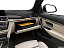 2019 BMW 4-series 430i Convertible, glove box open.