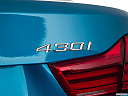 2019 BMW 4-series 430i Convertible, rear model badge/emblem