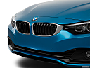 2019 BMW 4-series 430i Convertible, close up of grill.