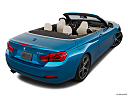 2019 BMW 4-series 430i Convertible, rear 3/4 angle view.