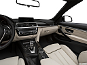 2019 BMW 4-series 430i Convertible, center console/passenger side.