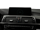 2019 BMW 4-series 430i, closeup of radio head unit