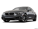 2019 BMW 4-series 430i, front angle view, low wide perspective.