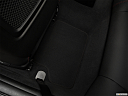2019 BMW 4-series 430i, rear driver's side floor mat. mid-seat level from outside looking in.