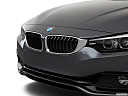 2019 BMW 4-series 430i, close up of grill.