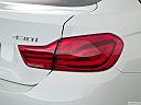 2019 BMW 4-series 430i Gran Coupe, passenger side taillight.