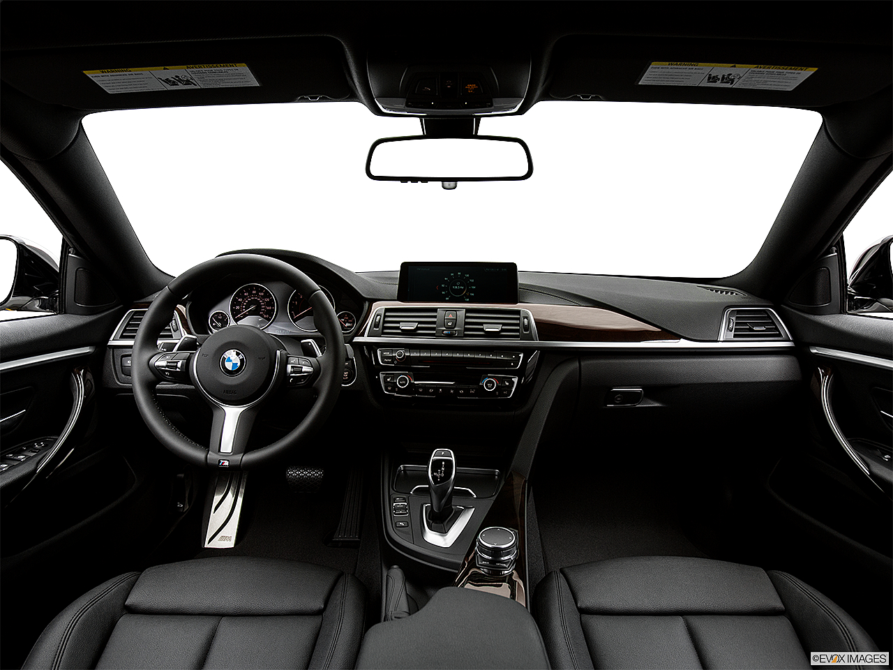2019 BMW 4-series 430i Gran Coupe, centered wide dash shot