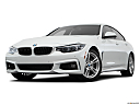 2019 BMW 4-series 430i Gran Coupe, front angle view, low wide perspective.