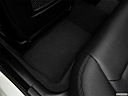 2019 BMW 4-series 430i Gran Coupe, rear driver's side floor mat. mid-seat level from outside looking in.