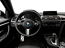 2019 BMW 4-series 430i Gran Coupe, steering wheel/center console.