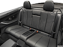 2019 BMW 4-series 440i Convertible, rear seats from drivers side.
